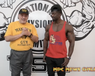 Road To The Olympia Interview with IFBB Pro League Men's Physique Competitor George Brown