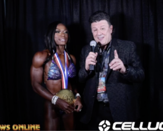 2020 Olympia: Women's Figure Winner Cyd Gillon interviewed by J.M. Manion