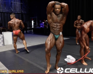 2020 Olympia: Men's 212 Bodybuilding Backstage Video Pt.1