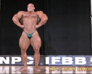"Mamdouh ""Big Ramy"" Elssbiay Guest Posing at the 2014 IFBB Pittsburgh Pro"