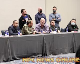 2020 Mr.Olympia Men's Bodybuilding Meeting Video