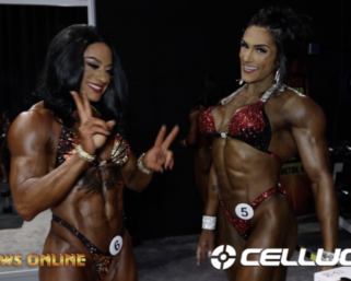 2020 MR. Olympia: Women's Physique & Women's Figure Backstage Video Pt.3
