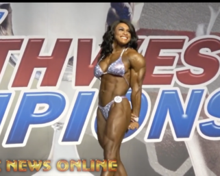 2020 NPC Southwest USA Championships Women's Physique Overall Blair Lowry