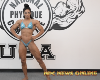 IFBB Pro League Women's Physique Pro Jada Beverly Posing Practice Video