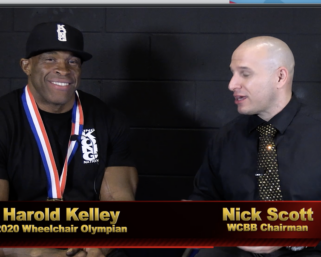 2020 Wheelchair Olympia  Winner Harold Kelly Interviewed By Nick Scott