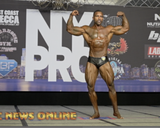 2020 @ifbb_pro_league NY Pro 8th Place Classic Physique Winner Michael Bell Posing Routine.