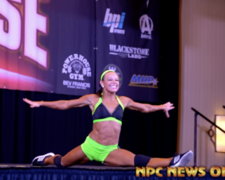 2020 NPC National Fitness Championships 2nd Place Heather Coscia