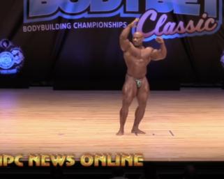 2020 NPC Body Be 1 Classic Guest Poser Bodybuilding Legend Dexter Jackson