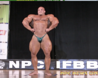 "Mr.Olympia Mamdouh ""Big Ramy"" Elssbiay Guest Posing at the 2014 IFBB Pittsburgh Pro"