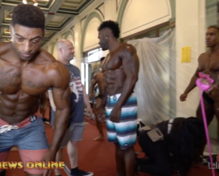 2019 IFBB Professional League Pittsburgh Pro Backstage Footage