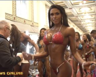 2019 IFBB Pittsburgh Pro Bikini Backstage Video Pt.1