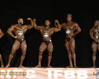 2019 IFBB Pro League Pittsburgh Pro Men's Classic Physique Finals