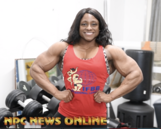 2020 IFBB Ms. Olympia Andrea Shaw Training Video