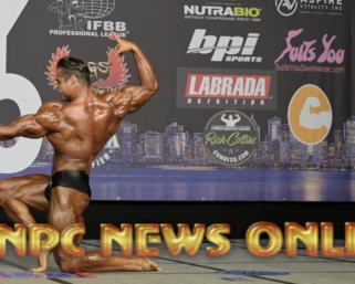 2020 IFBB NY PRO Classic Physique Winner Logan Franklin Posing Routine