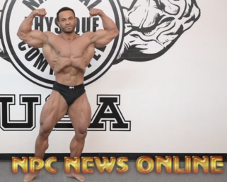 2020 Road To The Olympia with @ifbb_pro_league Classic Physique Pro Alex Cambronero