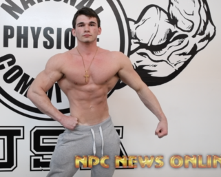 Road To The NPC Pittsburgh 2021: Cam Loughran NPC Men's Physique Posing Practice