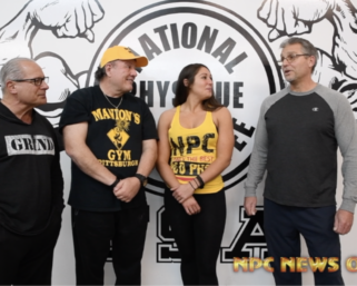 NPC True Novice Women's Figure Competitor Shaylee Ianno  Interview with J.M. Manion