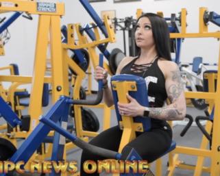 Road To The IFBB Pittsburgh Pro 2021: IFBB Bikini Pro Jessica Dolias Training At The NPC Photo Gym
