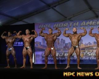 2020 NPC NorthAmerican Men's Bodybuilding Overall Posedown: 2021 Contest Information