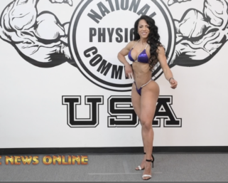 Road To The IFBB Pittsburgh Pro 2021: Loly Ragusa Wellness Posing Practice Video