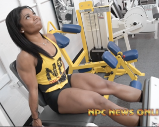 Road To The IFBB Pittsburgh Pro: Mia Samuels Training