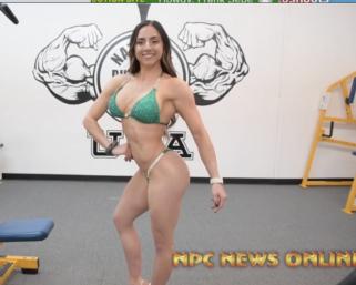 Road To The IFBB Pittsburgh Pro 2021: Jessica Telesco Posing