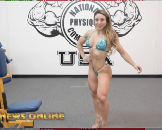 Road To The IFBB Pittsburgh Pro 2021:Dr. Sunny Andrews Posing