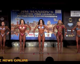 2021 Jim Manion's IFBB Pittsburgh Pro Figure First & Last Comparisons & Awards Presentations