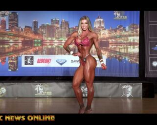 2021 First Ever IFBB Pittsburgh Pro Wellness Champion Angela Borges Individual Presentation