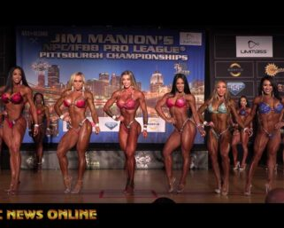 EXCLUSIVE VIDEO! 2021 IFBB Pittsburgh Pro Wellness First Comparisons, Last Comparisons and Awards!