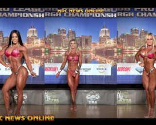 EXCLUSIVE VIDEO! 2021 IFBB Pittsburgh Pro Wellness Top 3